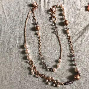Plunder adjustable necklace